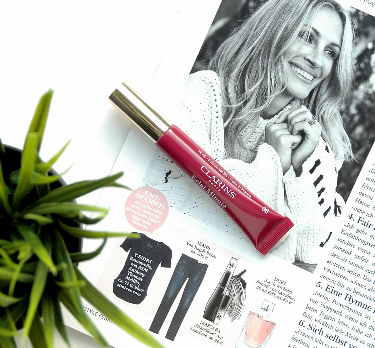 Clarins Eclat Minute Embellisseur Lèvres Plum Shimmer