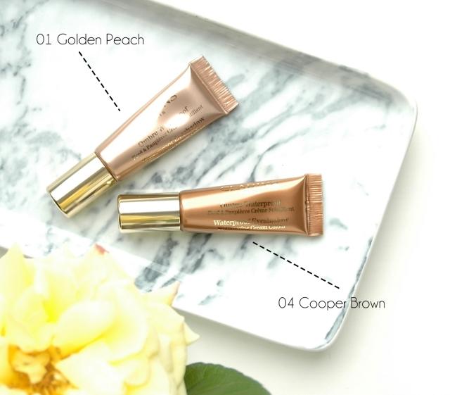 Clarins Ombre Waterproofs Golden Peach, Cooper Brown